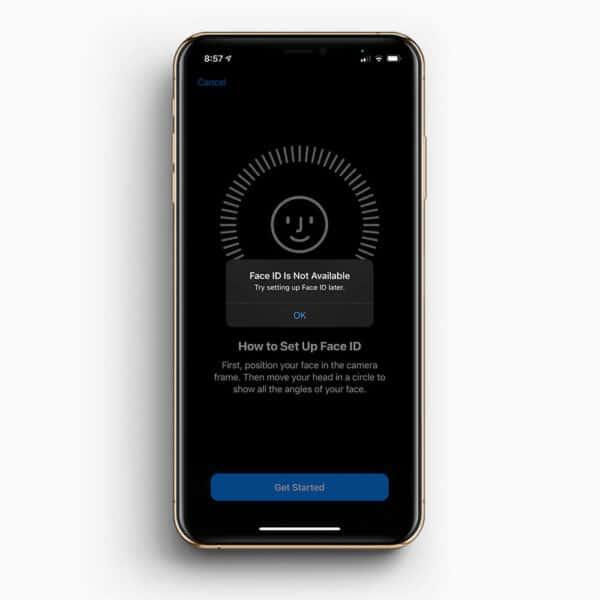 iphone xs max face id reparatur